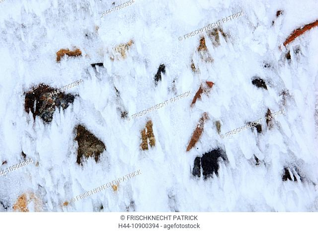 Cutting, Part, mountain, mountains, Cairngorms, detail, ice, ice-crystal, ice-crystals, cliff, rock, cliff, mountains, Glenshee, highlands, highland, crystal