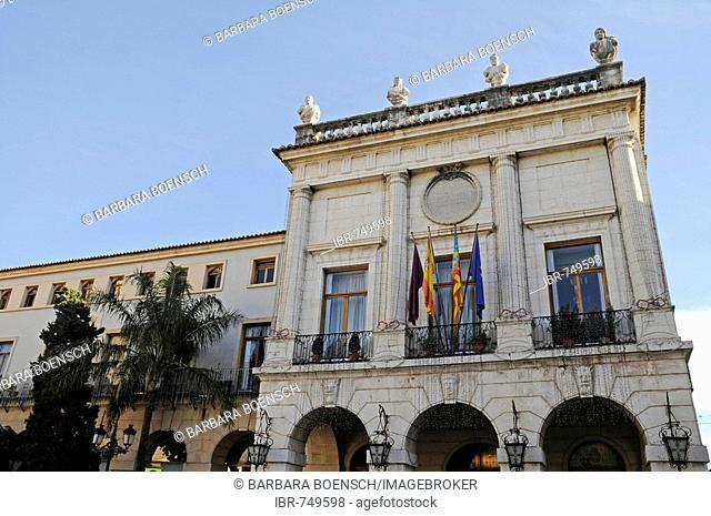 Town hall, Gandia, Costa Blanca, Valencia Province, Spain