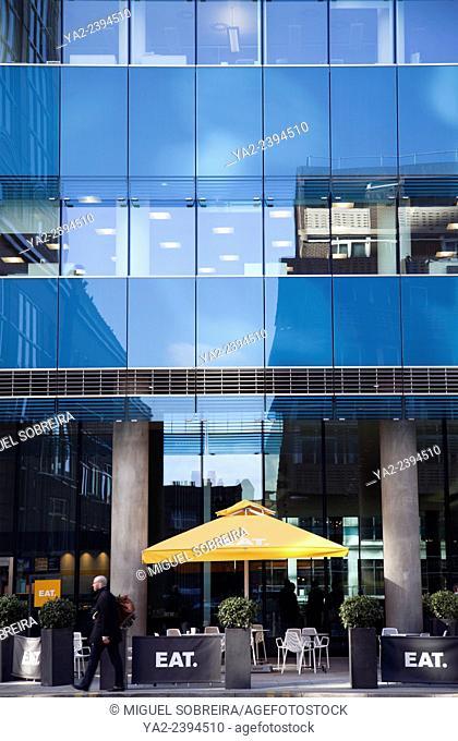 EAT restaurant at St Botolph Building in London EC3
