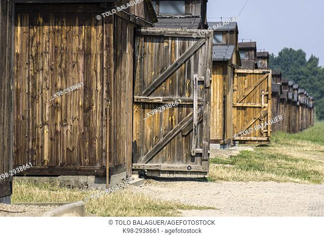 Auschwitz-Birkenau concentration camp, museo estatal, Oswiecim, Polonia, eastern europe