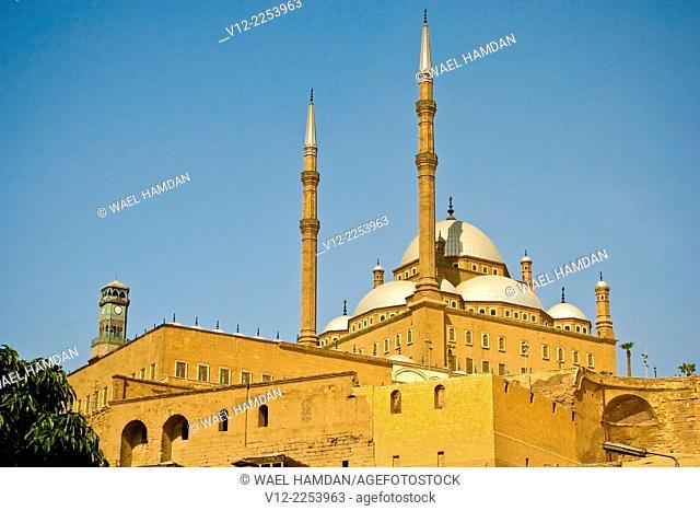 Mohammad ali mosque and Citadel of Salah Al-Din Cairo Citadel, City of Cairo, Egypt