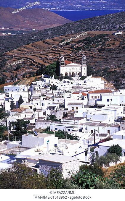 Lefkes, Paros, Cyclades, Greece