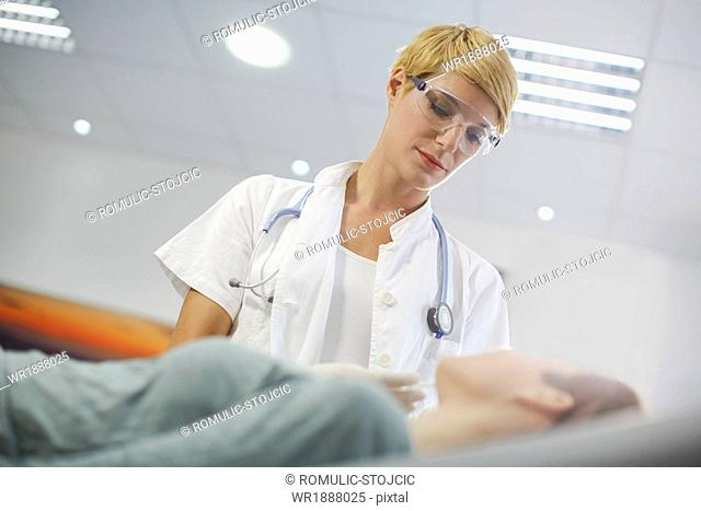 Patient In Consultation