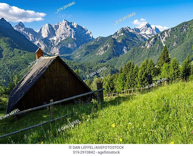 Landscape. Julian Alps. Slovenia