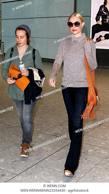 Kate Bosworth arrives at London Heathrow after a flight from Los Angeles Featuring: Kate Bosworth Where: London, United Kingdom When: 13 Jan 2016 Credit: WENN