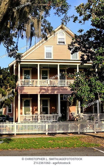 Spencer House Inn in St. Marys town, Georgia