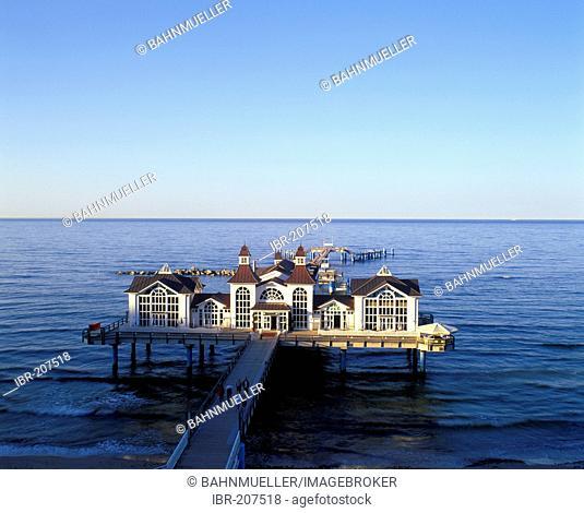 Sellin Ruegen Mecklenburg-Western Pomerania Germany pier