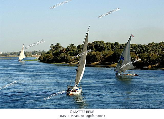 Egypt, Upper Egypt, Nile Valley between Luxor and Aswan