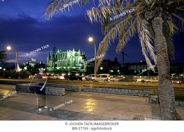 ESP, Spain, Balearic Islands, Mallorca: the cathedral of Palma