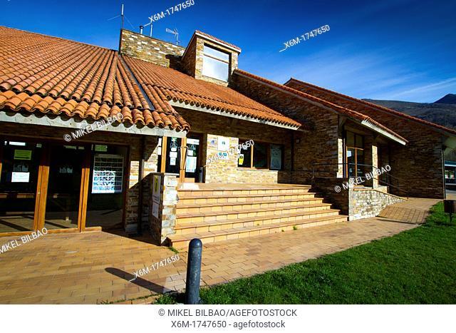 Information Center  Campo de Caso village  Caso  Redes Natural Park  Asturias  Spain