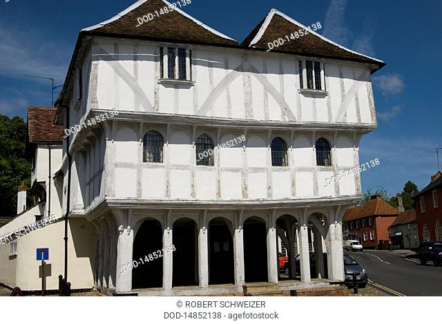 England, Essex, Thaxted, 14th century Guildhall