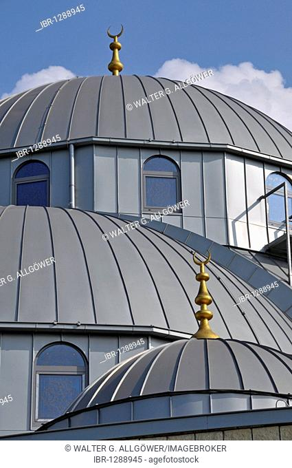 Ditib-Merkez-Moschee, the largest mosque in Germany, Duisburg-Marxloh, North Rhine-Westphalia, Germany, Europe