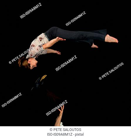 Think, Acrobatic act adult share