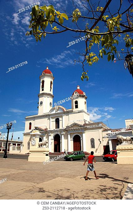 Pur'sima Concepcion Cathedral in JosŽ Mart' Park, Cienfuegos, Cuba, West Indies, Central America