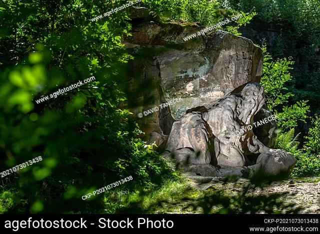 The recently finished first phase of reconstruction of Baroque complex Braun's Nativity Scene, an open air unique ensemble of sandstone sculptures by Matthias...