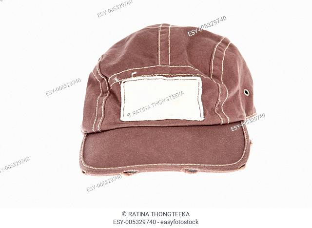 fashion Cap isolated on white