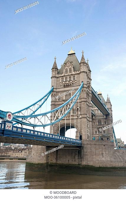 Tower Bridge and the River Thames, London, UK