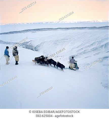 Aventura por el monte helado