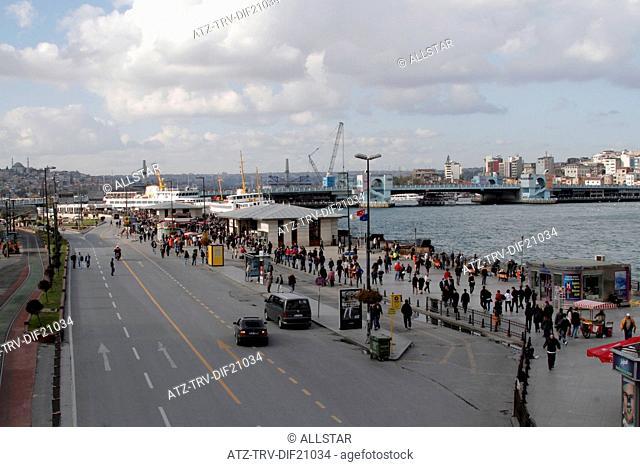 RAGIP GUMUSPALA CADDESI; EMINONU, ISTANBUL, TURKEY; 11/11/2012