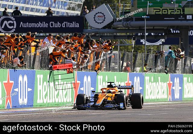 # 3 Daniel Ricciardo (AUS, McLaren F1 Team), F1 Grand Prix of Italy at Autodromo Nazionale Monza on September 12, 2021 in Monza, Italy