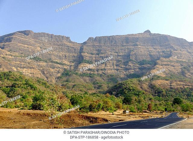 Western ghat at Maharashtra india Asia