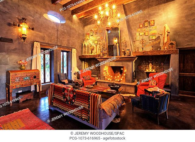 Mexican Ranch Sitting Room