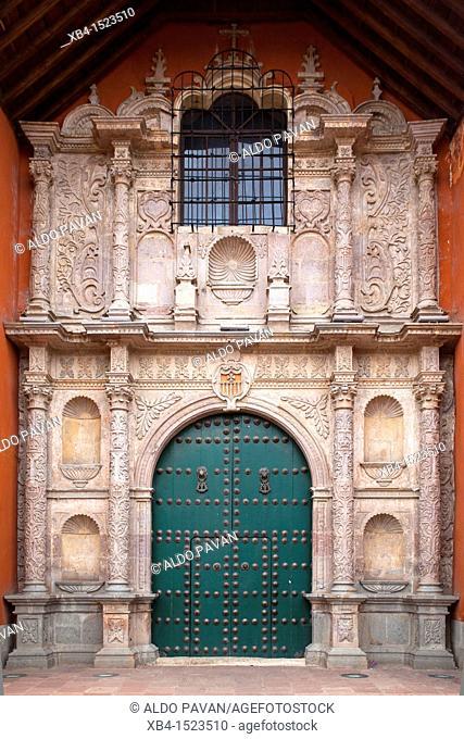 Bolivia, Potosi, iglesia de la Merced