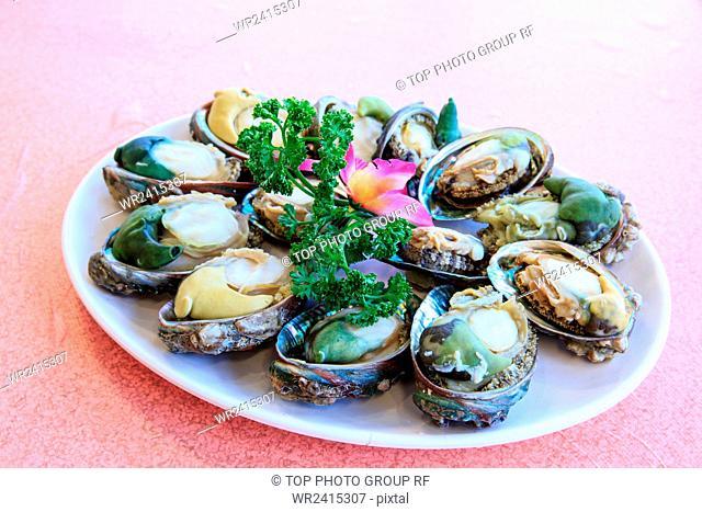 Steamed Abalone Taiwan
