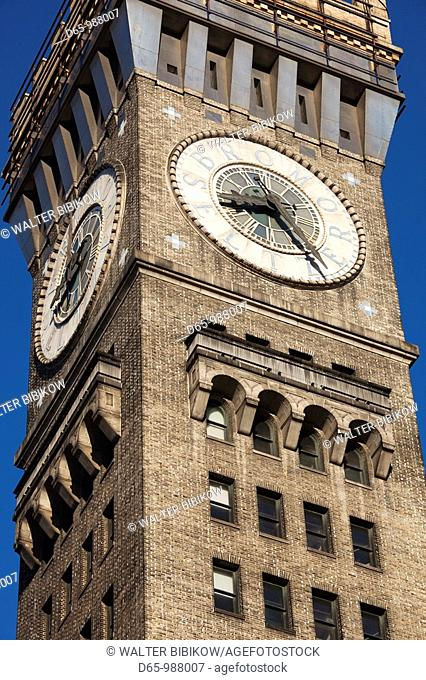 USA, Maryland, Baltimore, Bromo Seltzer Tower