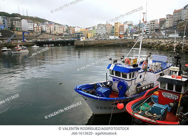 Malpica port  Coruña