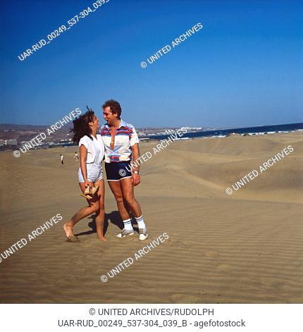 Eine Reise nach Gran Canaria, Spanien 1970er Jahre. Trip to Gran Canaria, Spain 1970s