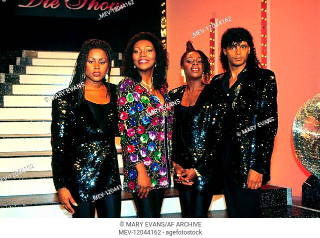 Boney M Pop Group 01 May 1982