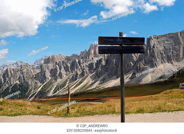 Dolomites, Italy - panorama