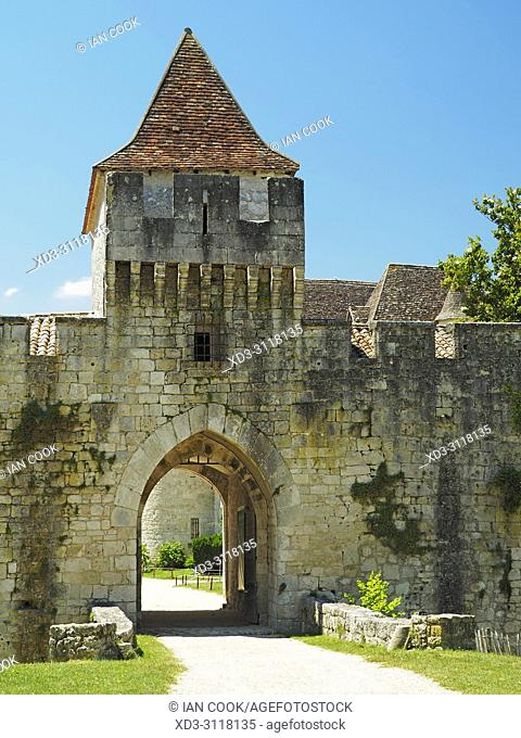Chateau Bridoire, Dordogne Department, Nouvelle-Aquitaine, France
