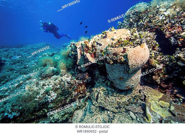 Scuba Diving, Adriatic Sea, Dalmatia, Croatia