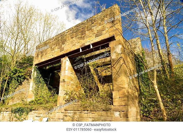 Grosmont ironstone conveyor remains