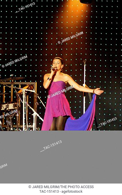 Nelly Furtado performs in concert at the Greek Theatre in Los Angeles