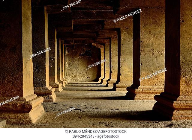 Das Aratara temple. Hindu group. Ellora caves, Aurangabad, Maharastra, India