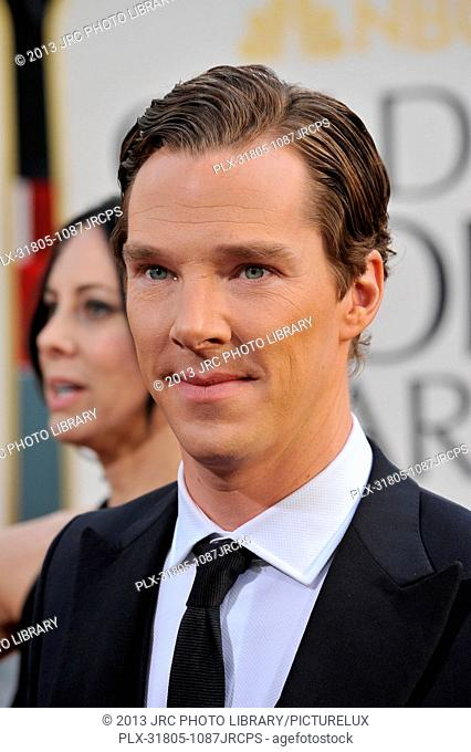 Benedict Cumberbatch at the 70th Golden Globe Awards at the Beverly Hilton Hotel. January 13, 2013 Beverly Hills, CA Photo by JRC / PictureLux
