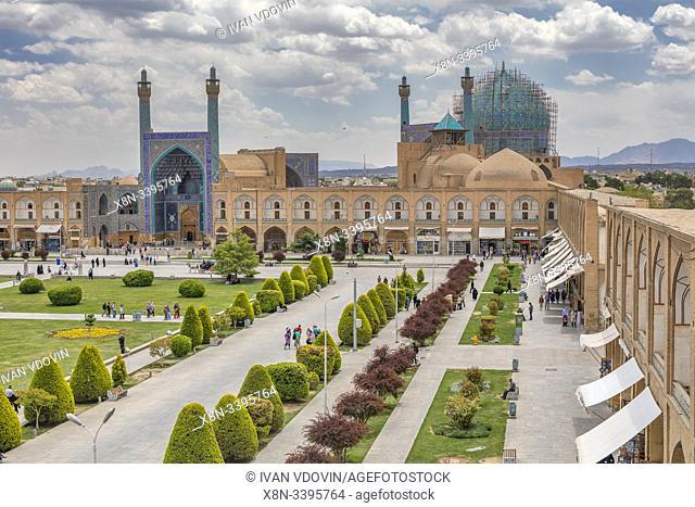 Shah Mosque, Naghsh-e Jahan Square, Isfahan, Isfahan Province, Iran
