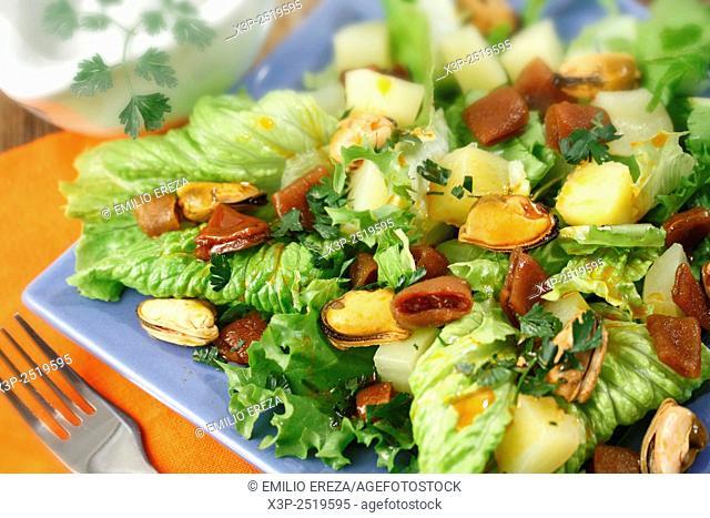 Cochayuyo seaweed salad