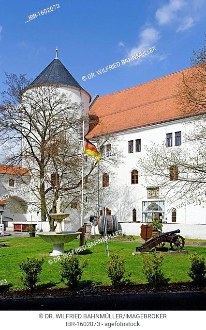 Schloss Wurzen castle built from 1491-1497, Wurzen, Saxonia, Germany, Europe