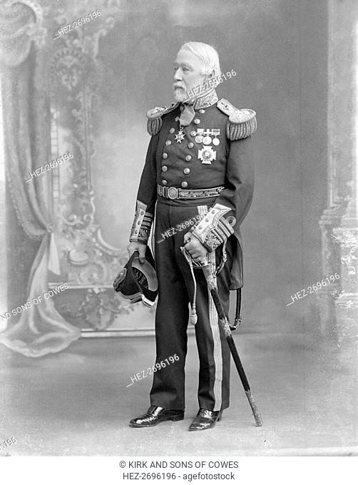 Admiral Sir Algernon Frederick Rous de Horsey KCB, c1910. Creator: Kirk & Sons of Cowes