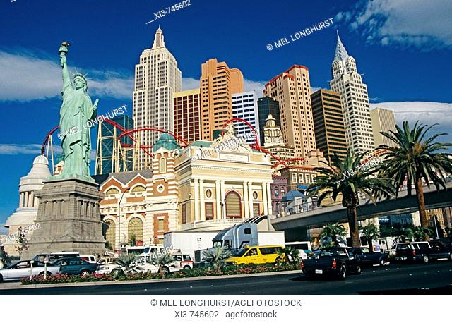 New York New York Hotel and Casino, Las Vegas, Nevada, USA