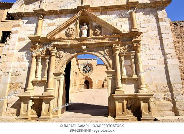 Cistercian Royal Monastery of Santa María de Huerta, Soria Castile-leon Spain