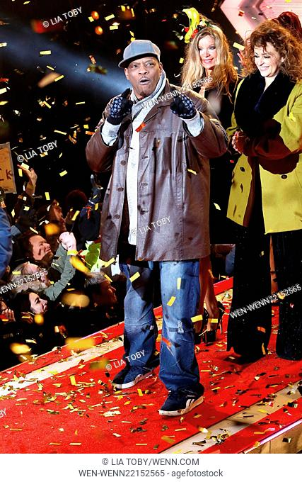 Katie Price wins Celebrity Big Brother Celebrity Big Brother Final 2015 Featuring: Alexander O'Neil Where: London, United Kingdom When: 06 Feb 2015 Credit: Lia...