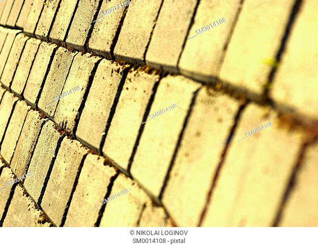 Diagonal warm pavement texture background hd