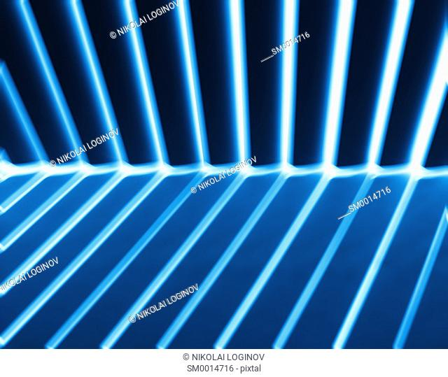 Diagonal bue light and shadow panels background hd