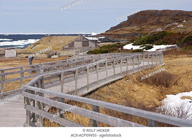 Norstead Viking Site, A Viking Port of Trade, Viking Trail, Great Northern Peninsula, Newfoundland & Labrador, Canada