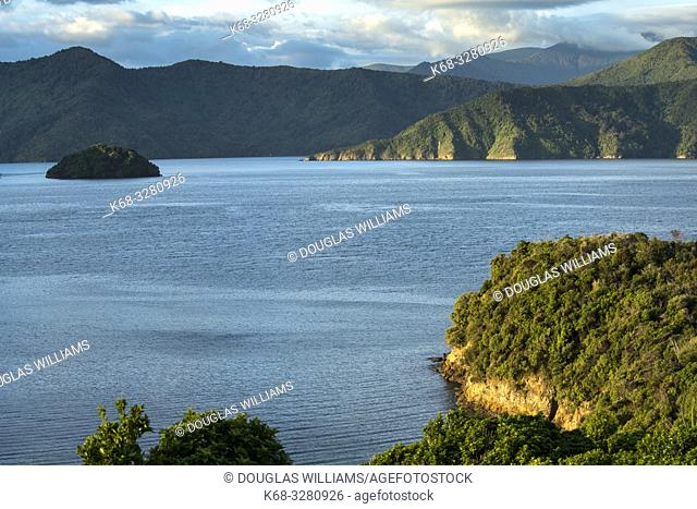 Queen Charlotte Sound, near Picton, South Island, New Zealand